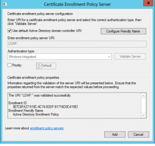 CSC- CEP Server