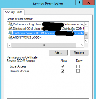 DCOM Access